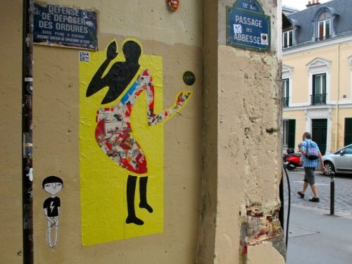 street-art Abbesses FKDL