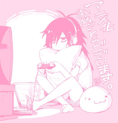 Image de manga and pink