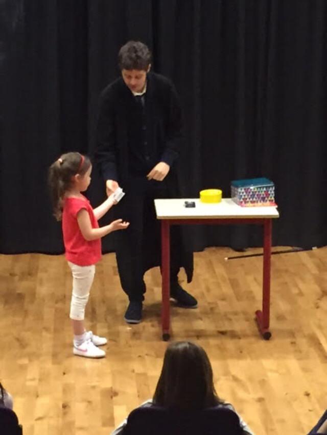 Un magicien à l'école