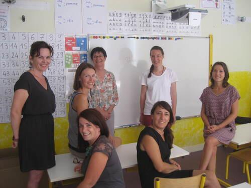 L'équipe pédagogique 2016-17