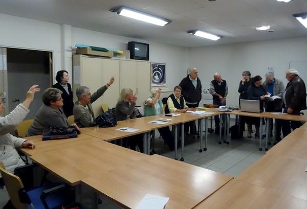 Réunion d'information sur la généalogie à Châtillon sur Seine....
