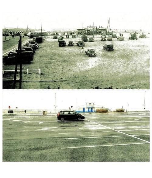 L'avenue de la Plage déplacée en 1969