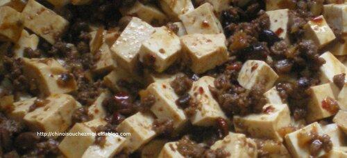 Tofu pimenté du Sichuan - Mapo Tofu 麻婆豆腐