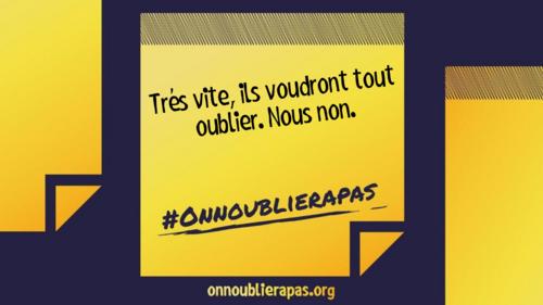 # ON N'oubliera Pas ....>  pour le JOUR d'APRES !