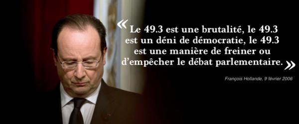 Loi travail: Valls annonce le recours au 49.3 dès mardi après-midi !