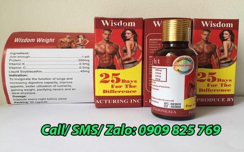 Mua Vitamin tăng cân Wisdom Weight ở Vĩnh Long ở đâu chính hãng