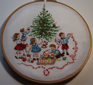 Sapin de Noël terminé...