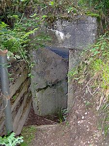 col de engin et sentier bunkers 103