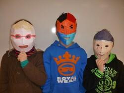 Des masques...