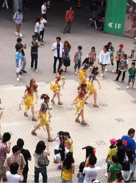 """Dance shot """"Cha Cha Sing"""""""