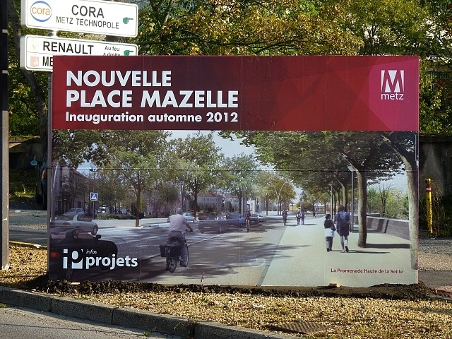 Chantier place Mazelle 13 Marc de Metz 2011