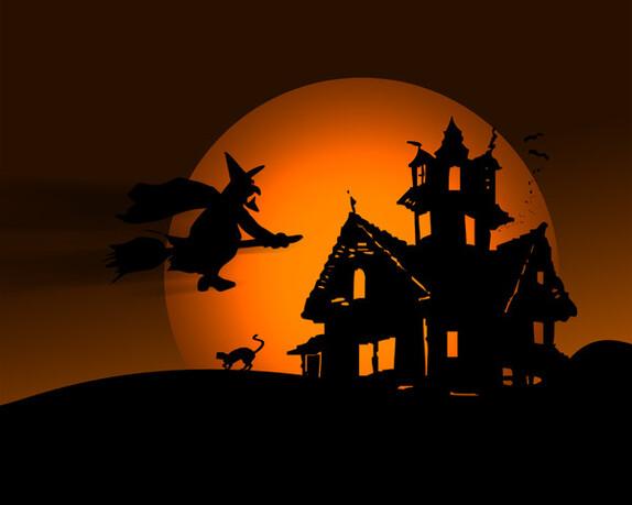 5 gifs ou images sur l'Halloween
