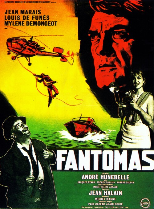 FANTOMAS - BOX OFFICE LOUIS DE FUNES 1964