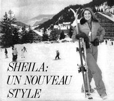 Janvier 1979 : Si belle à Méribel.