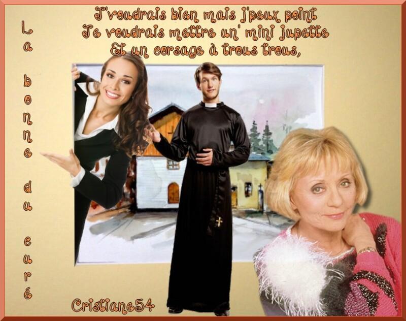 Défi la bonne du curé , blog en partage Kikoonette !