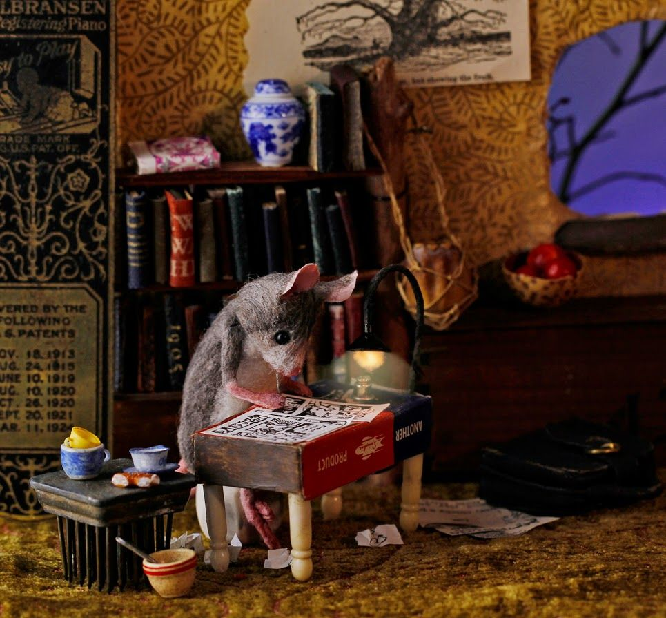 30+ Magical Mice by Maggie Rudy ideas | felt mouse, house mouse, cute mouse