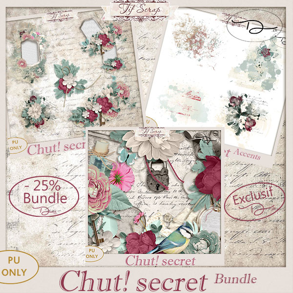 Chut! Secret Bundle