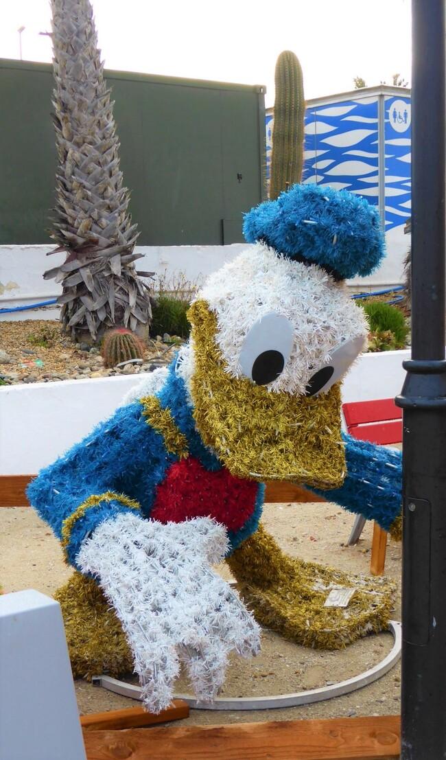 La fête est finie.....sur le marché de Noël du Barcarès....