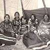 Blackfeet women. Early 1900s. Montana. Photo by N.A. Forsyth. Source - Montana Historical Society.