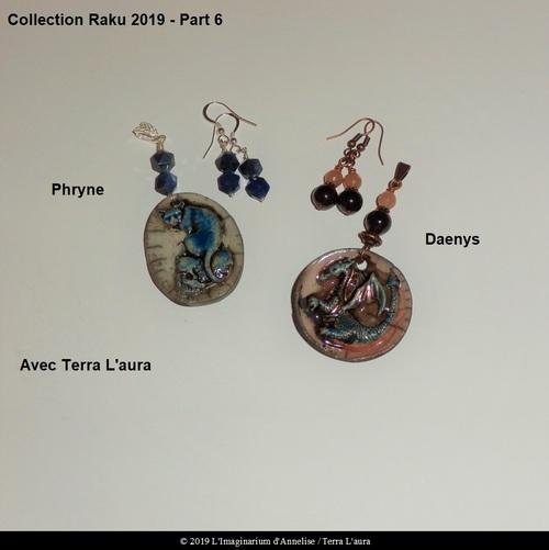 Collection Raku 2019 avec Terra L'aura
