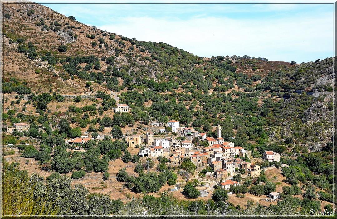 Petits villages corses (2) Avapessa