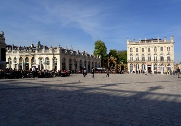 La collection Daum au Musée des Beaux Arts de Nancy...  et la place Stanislas
