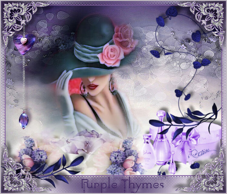 Purple Thymes
