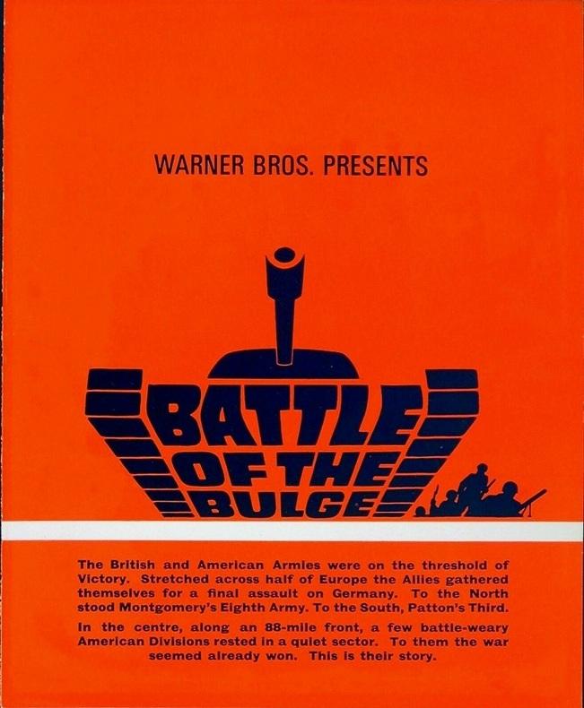 BATTLE OF THE BULGE BOX OFFICE USA 1965
