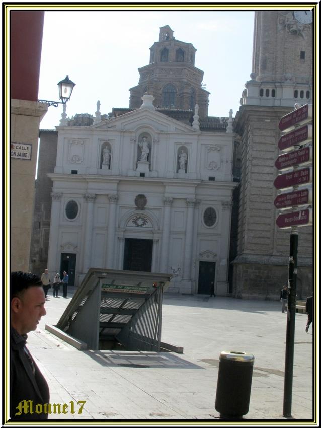 Saragosse, la cathédrale StSauveur