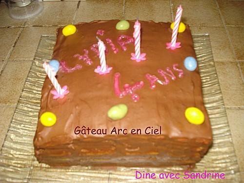 Gâteau Arc en Ciel 11