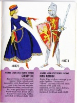 Vintage Barbie : Guinevere and King Arthur