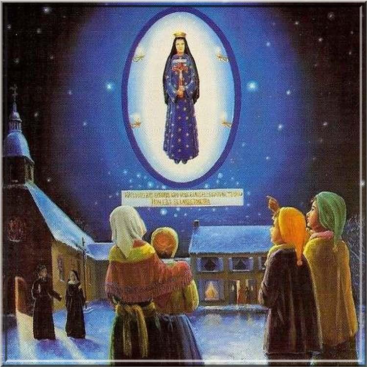 L'almanach du tour de France : La Vierge de Montmain