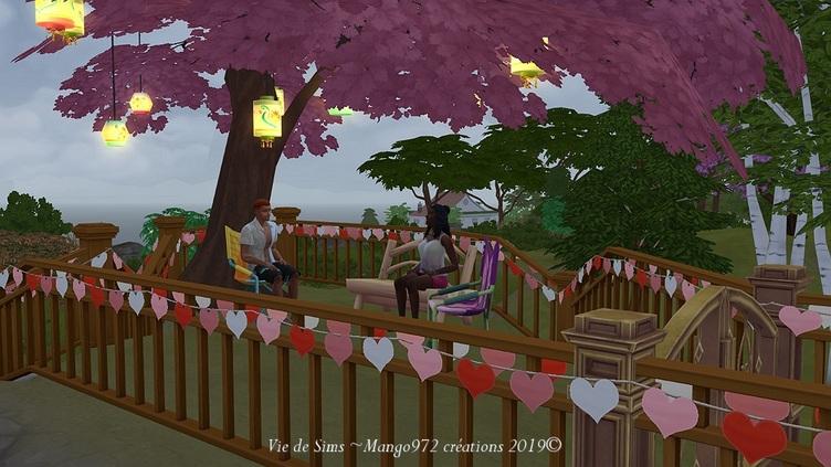 Les Sims 4 : Le Chalet la Rose des vents