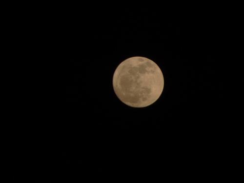 Pleine Lune du 8 Mars 2012 éclaire un puissant triangle de Terre