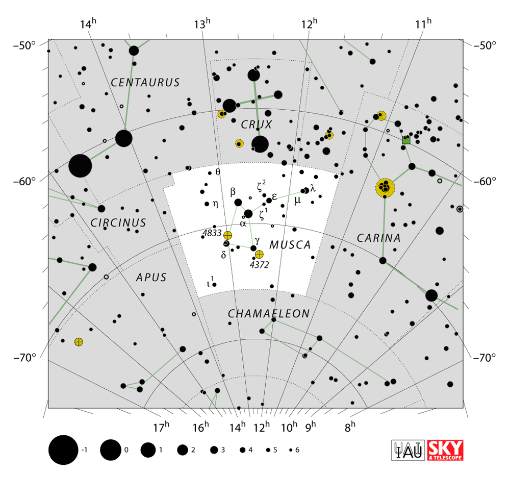 musca constellation