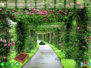 Jouer à Mansion garden escape