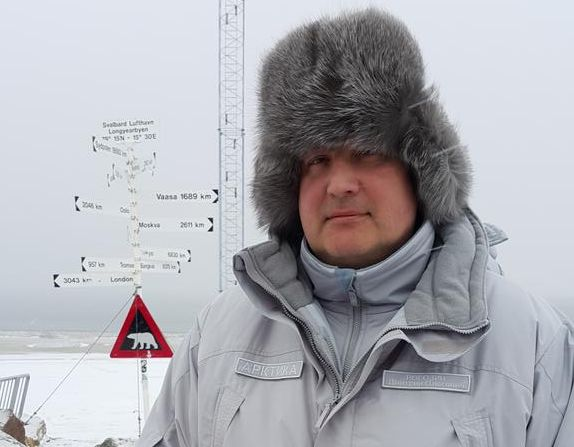 - Han er ikke ønsket på Svalbard