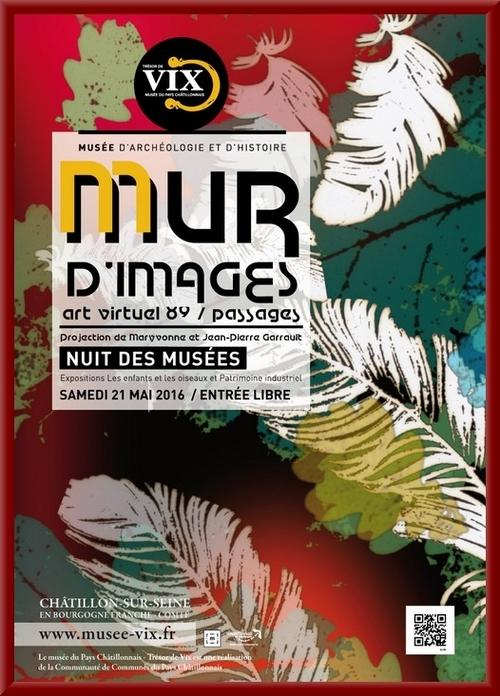 La Nuit des Musées 2016 au Musée du Pays Châtillonnais-Trésor de Vix a enchanté les visiteurs !