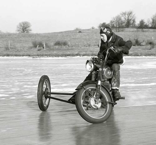 La moto est un sport divers... et d'hiver