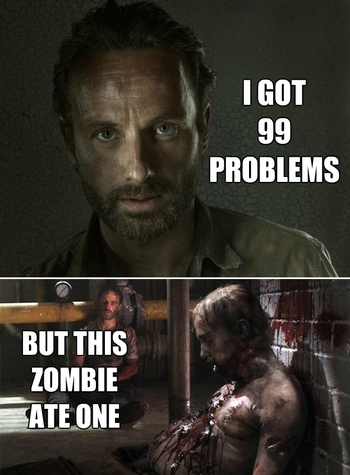 The Walking Dead memes 3