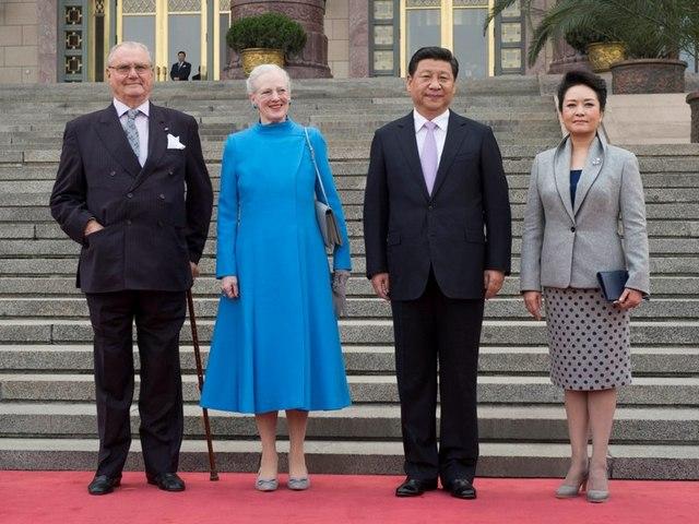 Margrethe et Henrik en Chine
