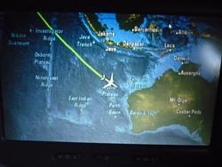 Boarding to Australia!