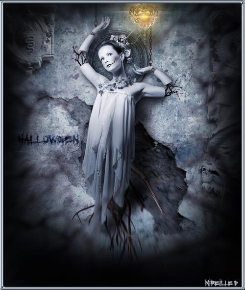 Marionnette Halloween Surréaliste