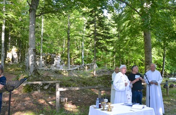 FETE DE L'ASSOMPTION A SAINT JULIEN EN BEAUCHENE