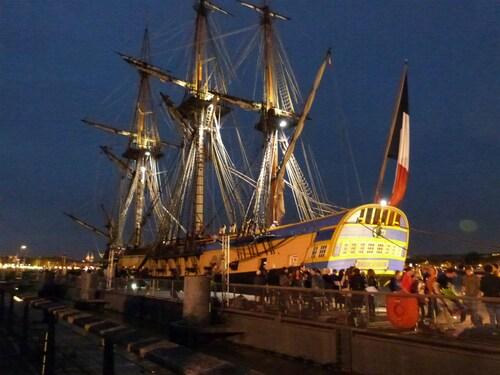 Arrivée du bateau Hermione Lundi 6 Octobre 2014