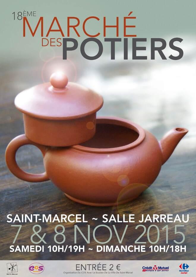 Marché de potiers à St Marcel