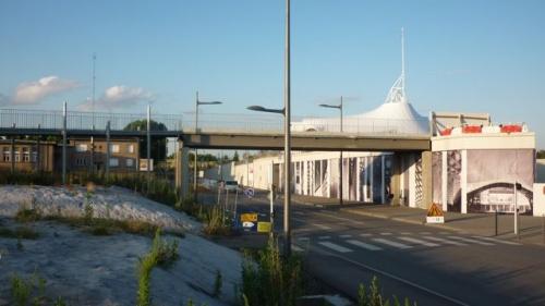 De l'arrière de la gare au centre Pompidou (25 juin 2011)