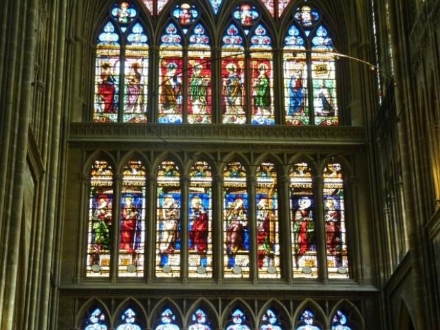 Vitraux Metz cathédrale de metz / au coeur des vitraux… - fier de vivre à metz