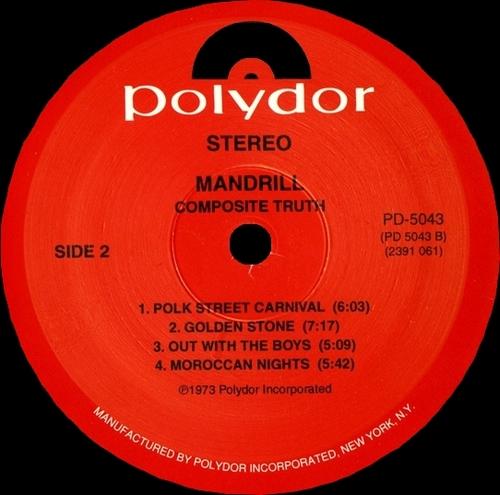 "1973 : Album "" Composite Truth "" Polydor Records PD-5043 [ US ]"