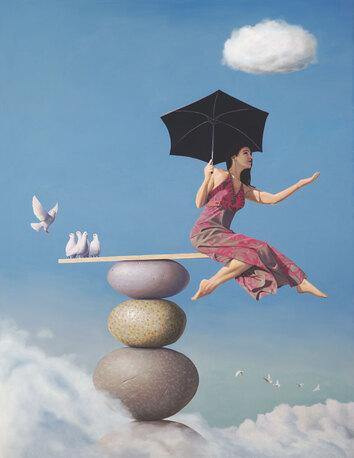 09 - Les parapluies dans la peinture aujourd'hui